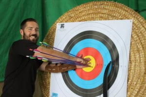 Archery traning Somerset