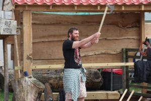 Fun Filled Axe throwing